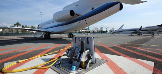 Système « pop-out » sur l'aéroport de Nice