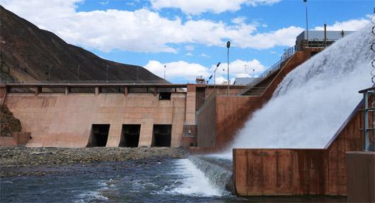 Centrale hydroélectrique de Cheves