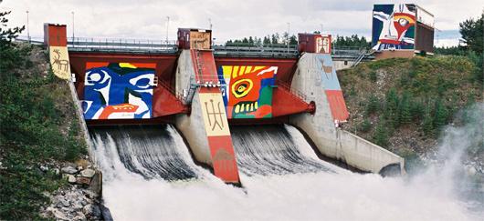 Centrale hydroélectrique d'Akkats