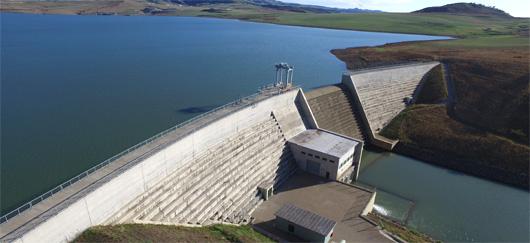 Bassin inférieur de Bramhoek de la STEP d'Ingula