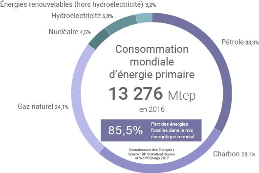 Consommation mondiale d'énergie