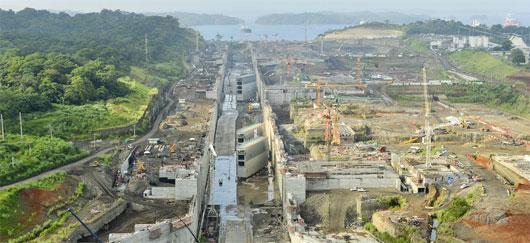 Travaux d'élargissement du Panama