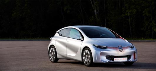 Prototype EOLAB, voiture hybride