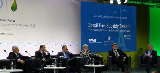 Arret subvention aux énergies fossiles