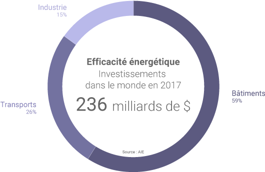 Investissements dans l'efficacité énergétique
