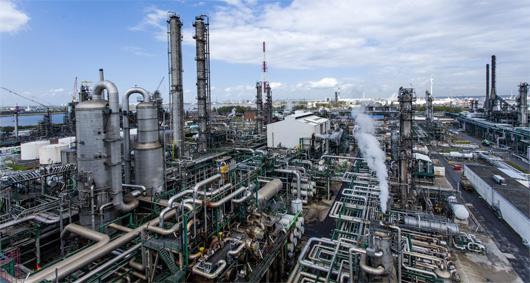 Raffinerie à Anvers
