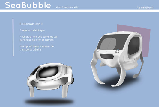 Photo du SeaBubble