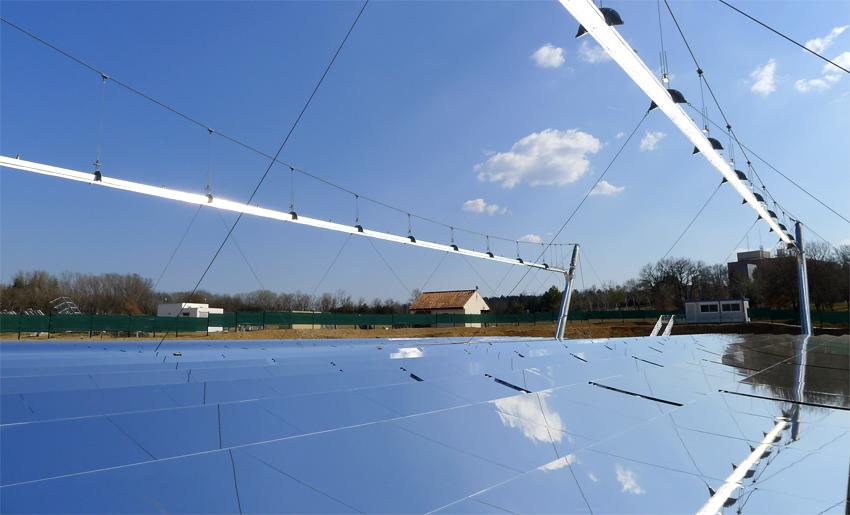 La lentille de fresnel source d 39 innovations des syst mes for Miroir solaire parabolique