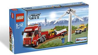 Lego 7747 City Le transport de l'éolienne