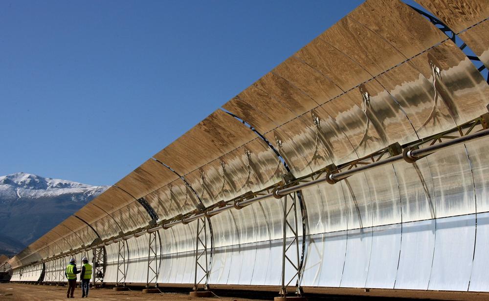 Solaire thermodynamique pr sentation du solaire for Miroir solaire parabolique