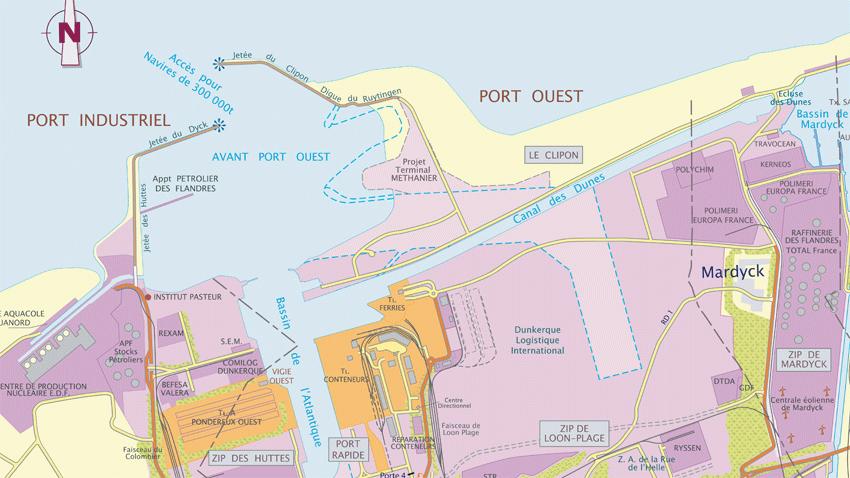 Dunkerque   Les Images Du Futur Terminal Pour Le Gnl