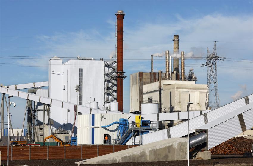 L'usine de Smurfit Kappa où est installée la centrale de cogénération produit près de 475 000 tonnes de papier par an. (©Phototheque VEOLIA - Rodolphe Escher)