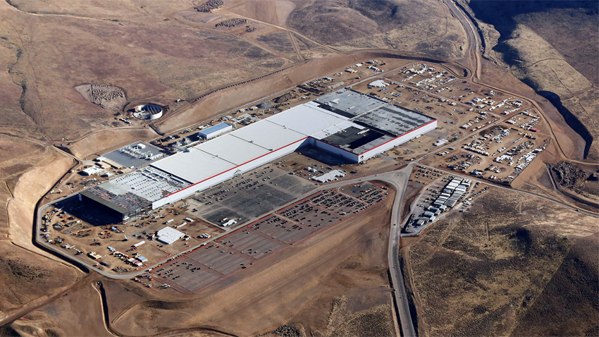Usine de batteries Gigafactory