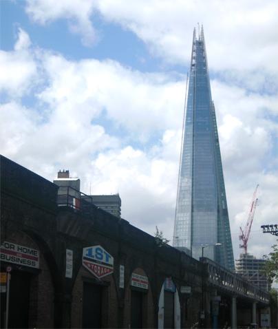 the shard nouveau gratte ciel londres 310 m de verre