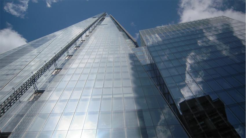 The shard nouveau gratte ciel londres 310 m de verre - Tour de verre marseille ...