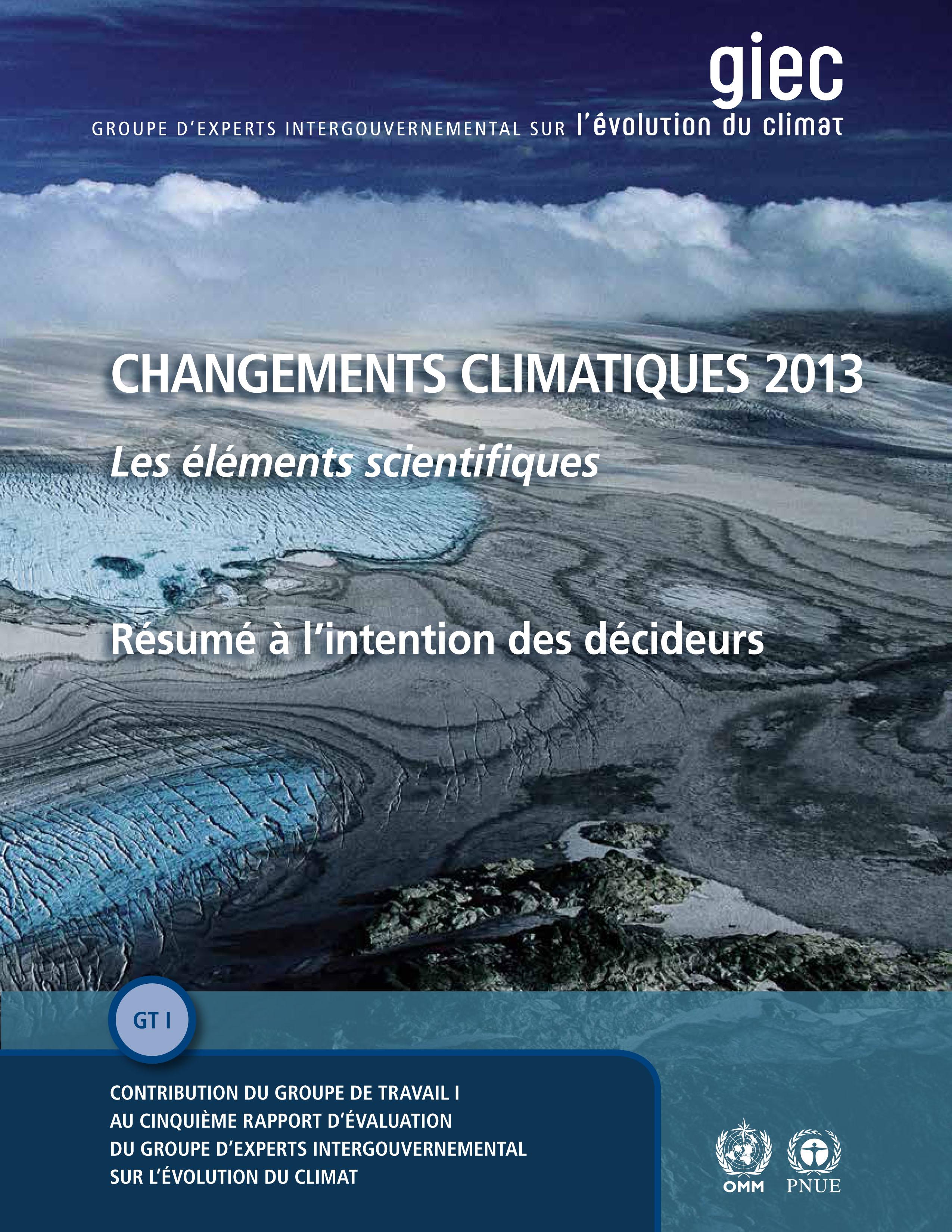rapport du giec sur le changement climatique   synth u00e8se du