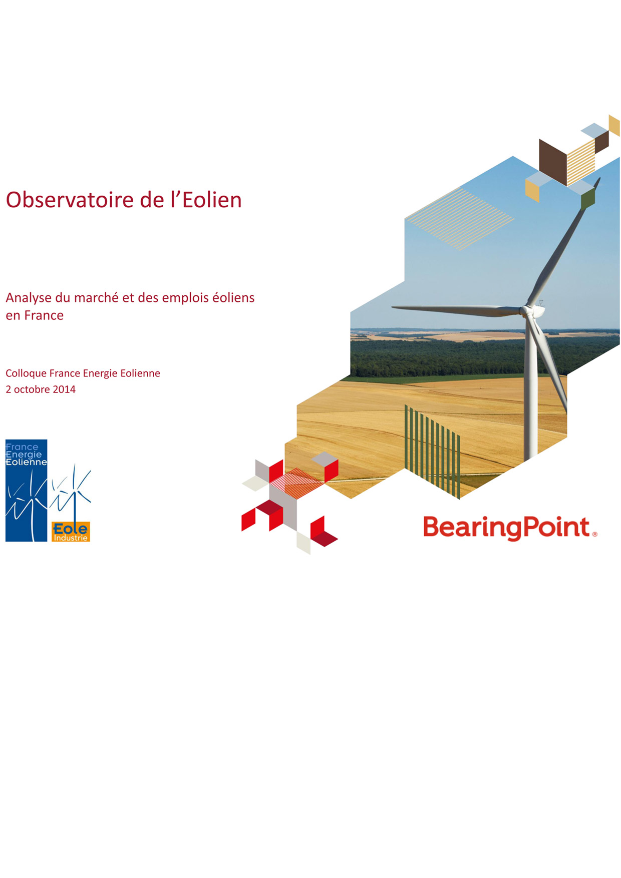 Analyse du march et des emplois oliens en france - Cabinet de conseil en energie ...