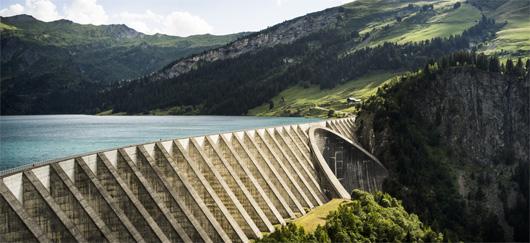 Parc hydroélectrique