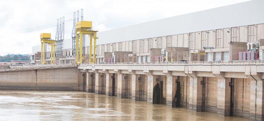 Centrale hydraulique de Jirau