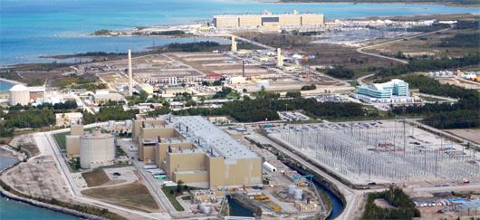 Réacteur nucléaire à eau lourde au Canada