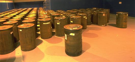 Classification et stockage déchets nucléaires
