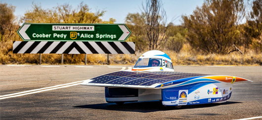 World Solar Challenge : l'Australie en voiture solaire