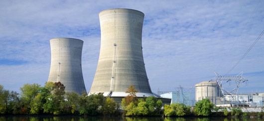 Energie nucléaire tours de refroidissement