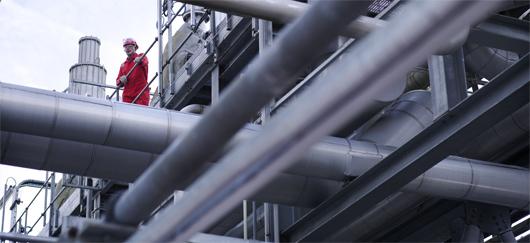 Industrie gaz naturel