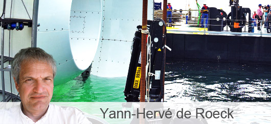 Yann-Hervé de Roeck, France Énergies Marines