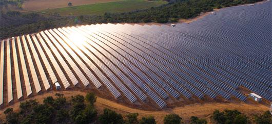 Parc photovoltaïque en Provence