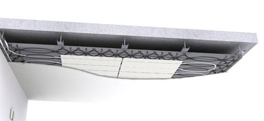 id e re ue un plafond chauffant est peu efficace puisque la chaleur monte. Black Bedroom Furniture Sets. Home Design Ideas