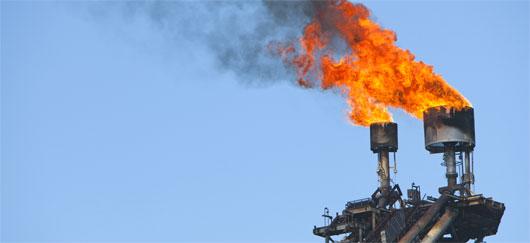 Torchage de gaz naturel