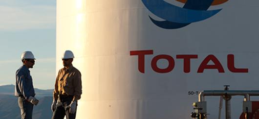 Groupe pétrolier français Total