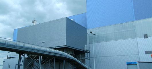 Valorisation énergétique de déchets à Lasse