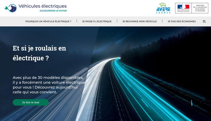 Site d'informations véhicules électriques