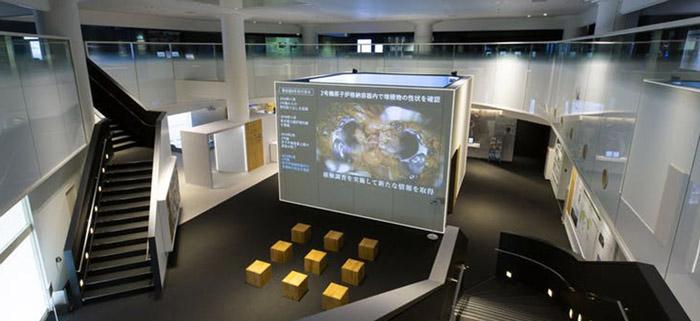 Exposition du centre d'archives de Tepco dédié à « enregistrer le passé et communiquer sur le présent ». Pas d'ouverture sur le futur…