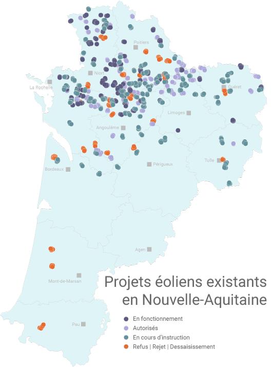 Éolien en Nouvelle-Aquitaine