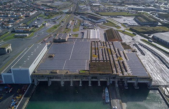 Solaire photovoltaïque au port de La Rochelle