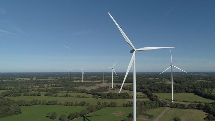 Parc éolien Les Landes