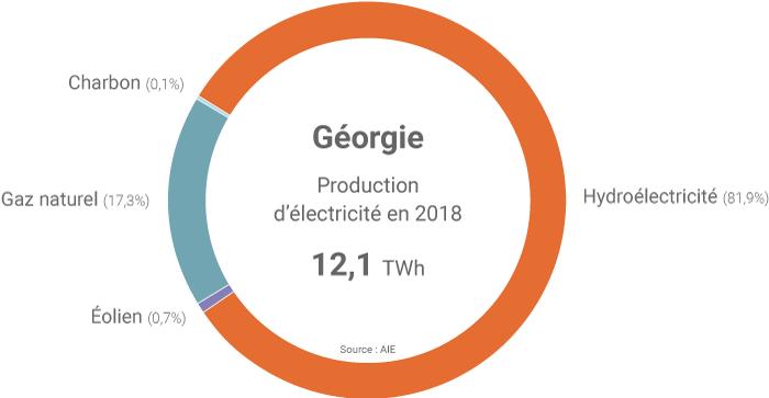 Bilan électrique de la Géorgie