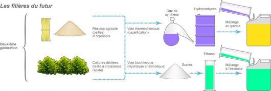 Biocarburant de deuxième génération
