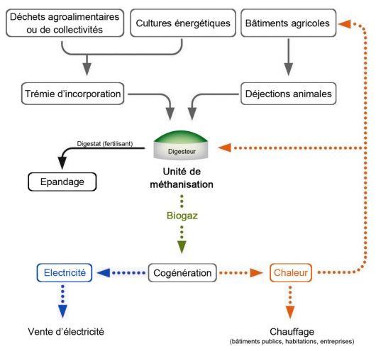 Méthanisation biomasse