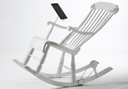 Le rocking-chair chargeur