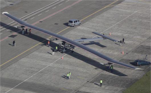 Solar Impulse vue d'en haut