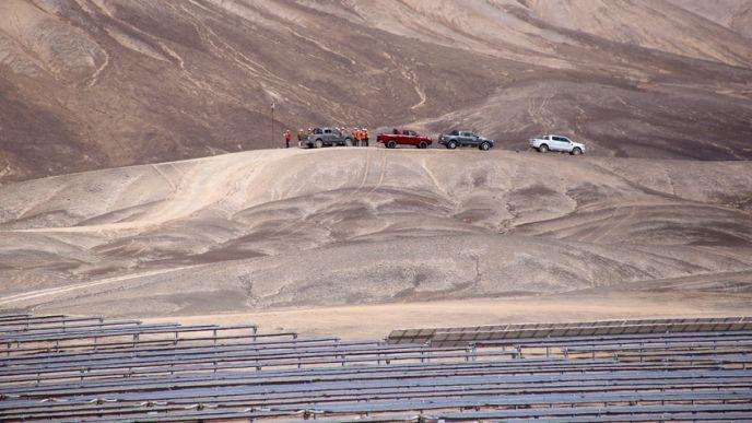 Le parc de Boléro devrait contribuer à faire augmenter la part des énergies renouvelables dans le mix électrique chilien et réduire les importations d'électricité des pays voisins. (©EDF)