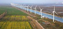 Fournir l'électricité française avec des éoliennes