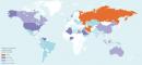 Réserves de gaz naturel dans le monde