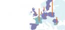 Les réserves de gaz de schiste en Europe