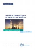 Marché du charbon vapeur en 2016