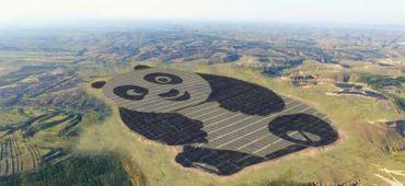 Centrale solaire panda